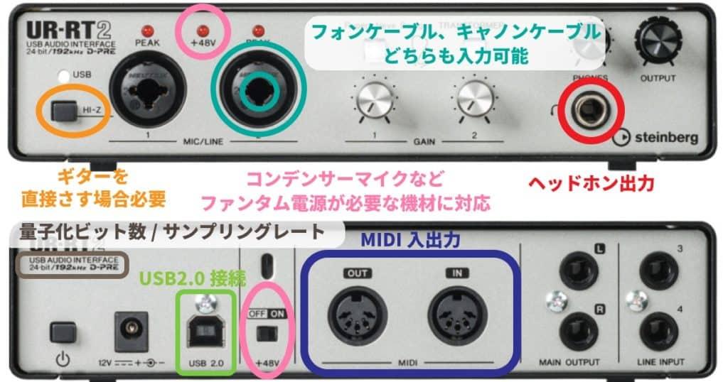インターフェイス 使い方 オーディオ UR22Cのセットアップと使い方【ドライバーのインストールから入出力まで】