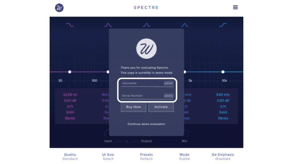 spectre-wavesfactory-activate