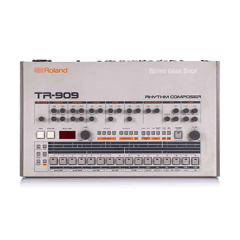 roland tr-909 real
